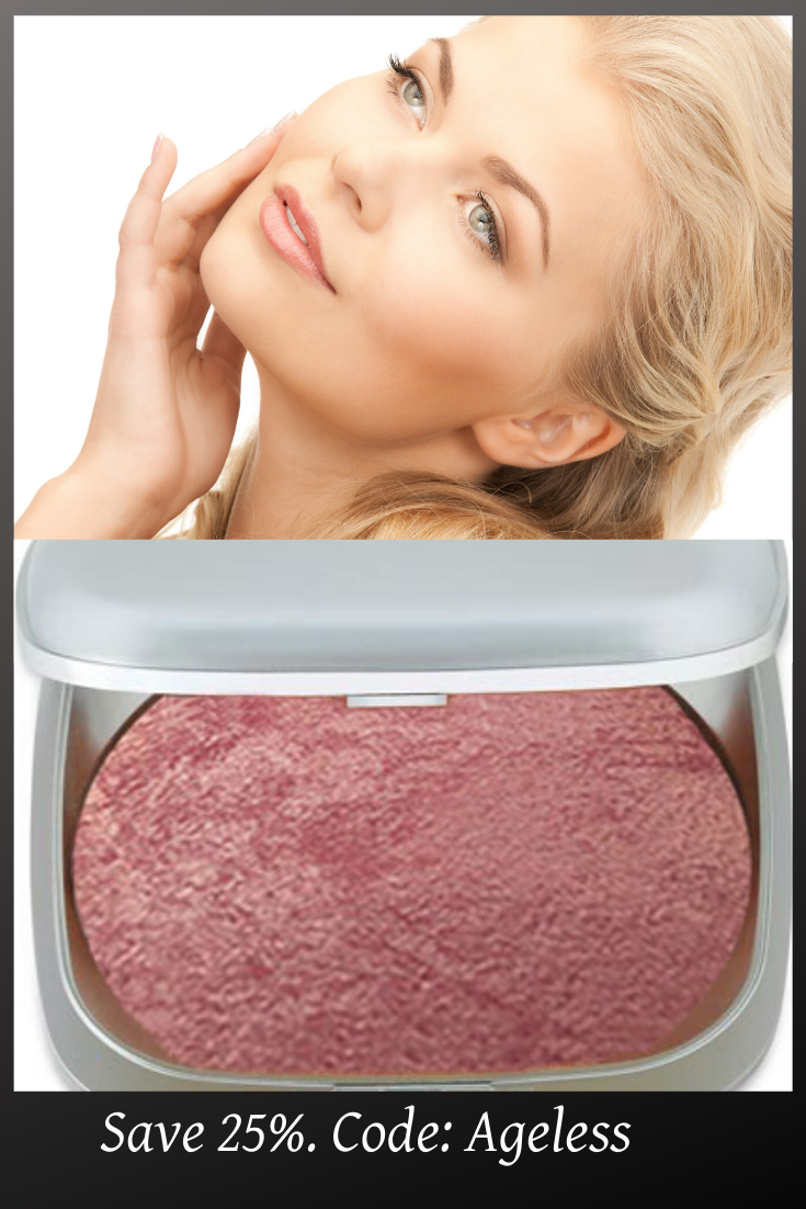 Baked Mineral Blush with Vitamin, Antioxidants and
