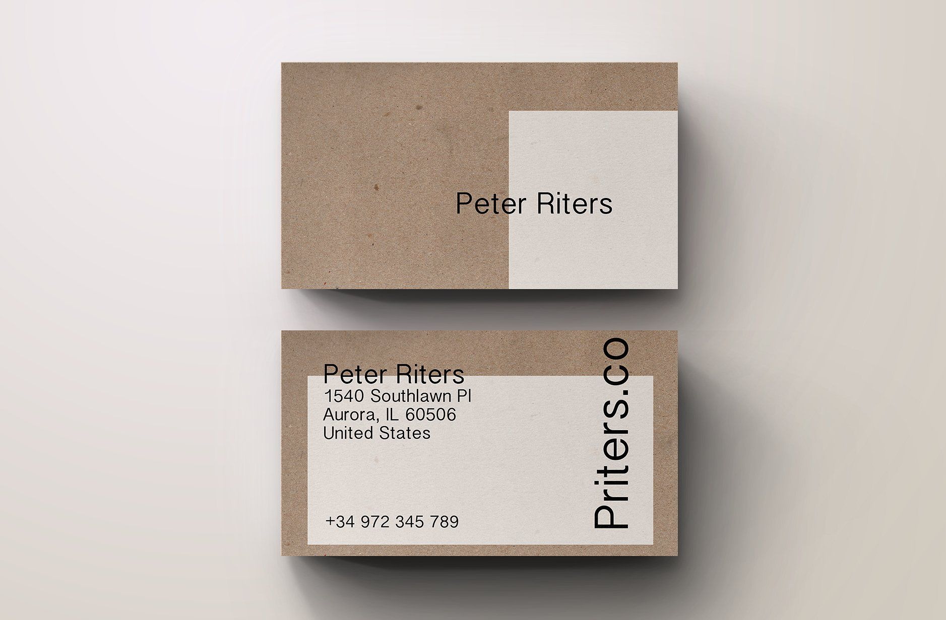 Creative Eco Business Card Template Name Card Design Business Cards Creative Business Card Inspiration