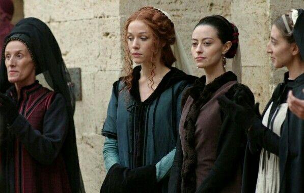 Medici: Masters of Florence [2016, RAI1] Tatjana Nardone (Emilia) and Sarah  Felberbaum (Maddalena)