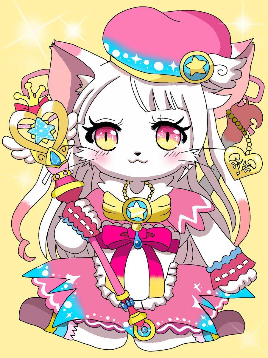やくみ on in 2020 Fan art, Anime, Cats