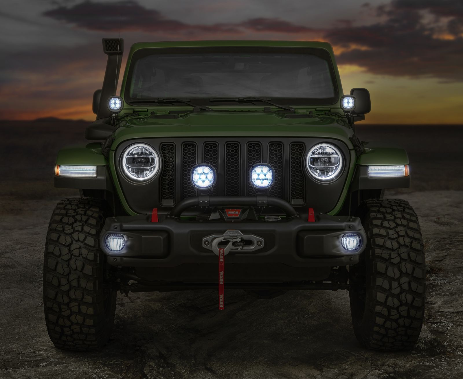 New Wranglers Show Off Mopar Jeep Performance Parts Carscoops