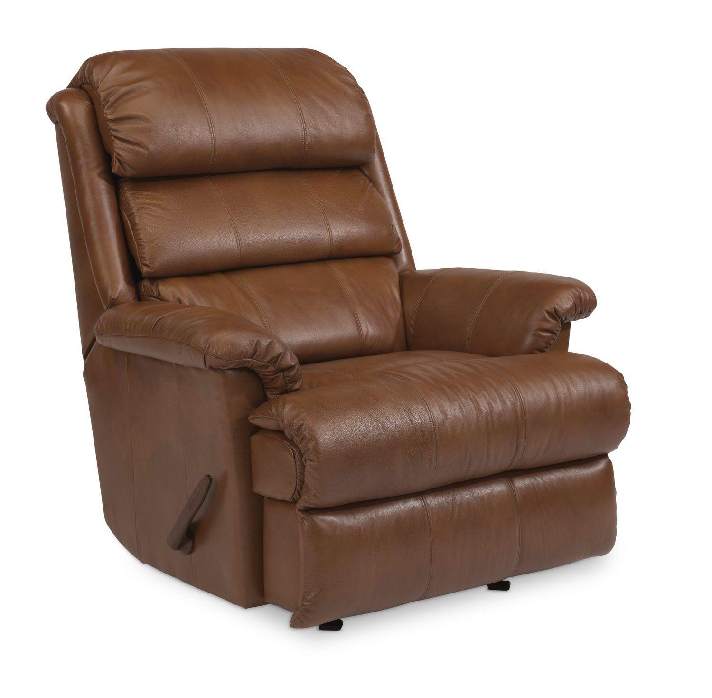 Yukon Leather Rocker Recliner Furniture, Recliner