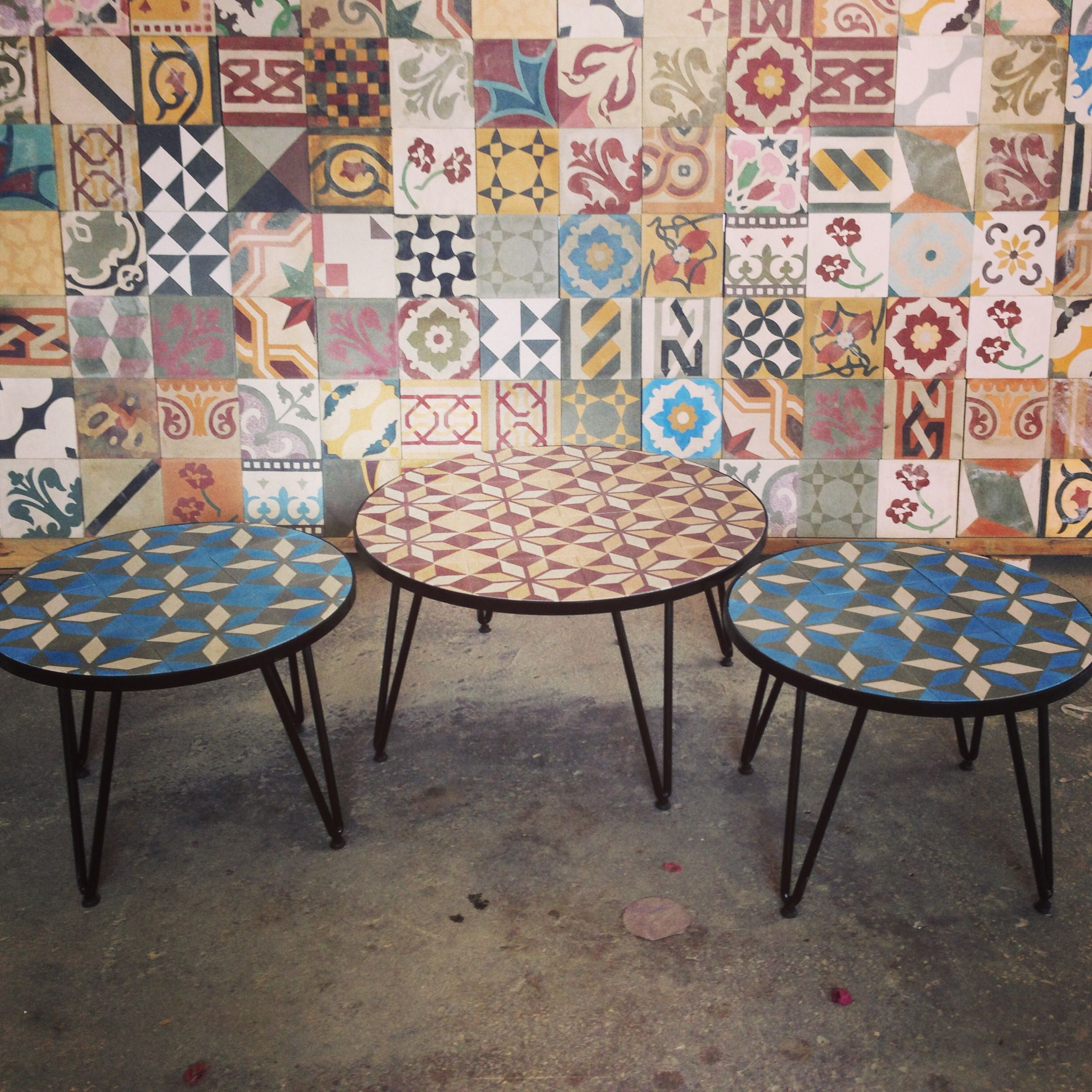 Another Way To Use Tiles Low Tables By Blattchaya Wwwblattchaya