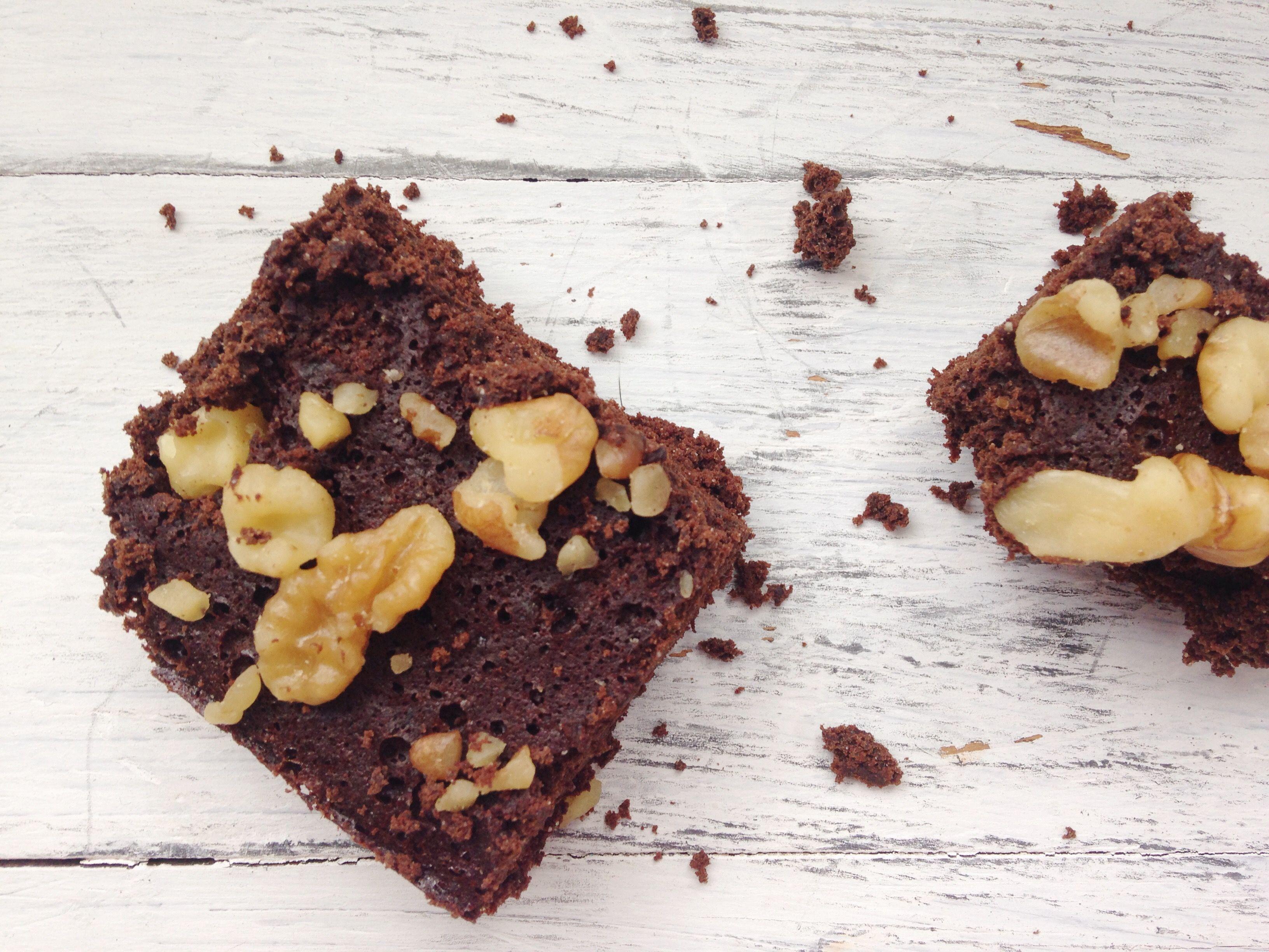 Brownies funcionales sin harina