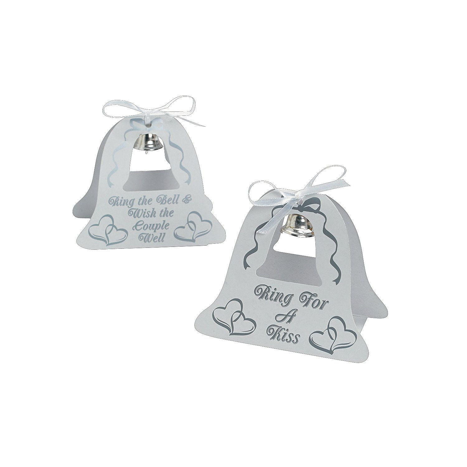 Silver Wedding Bell Tabletoppers - OrientalTrading.com   The little ...
