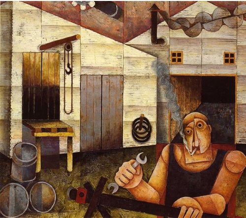 Leonard French Australian Painters Social Art Painting