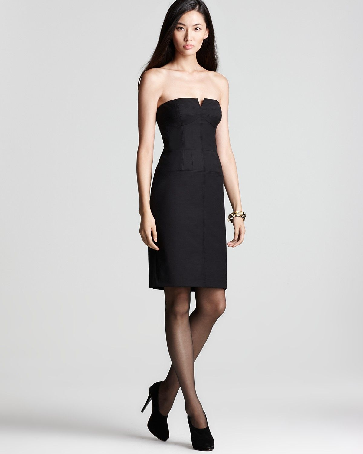 French Connection Strapless Dress Days Of Winter Women Dresses Bloomingdale S Dresses Strapless Dress Womens Dresses [ 1500 x 1200 Pixel ]
