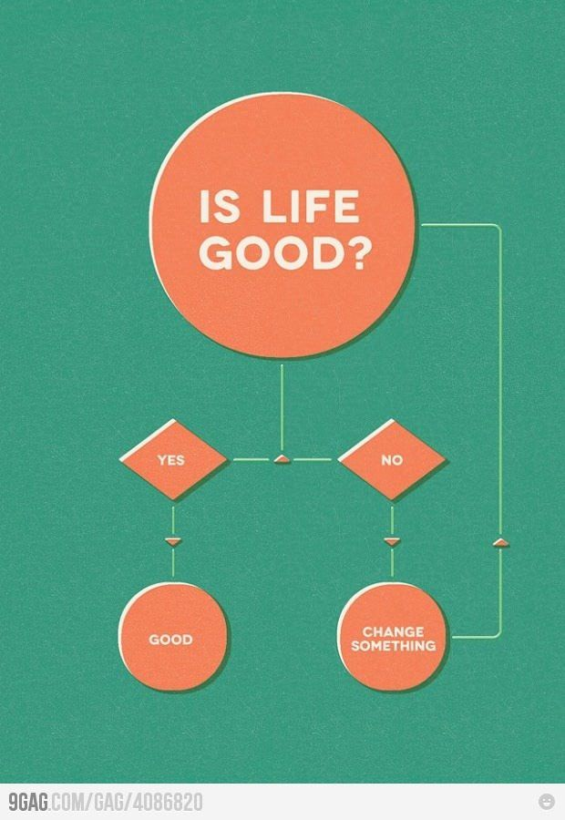Is Life Good Flow Chart Stuff Pinterest Flow And Chart