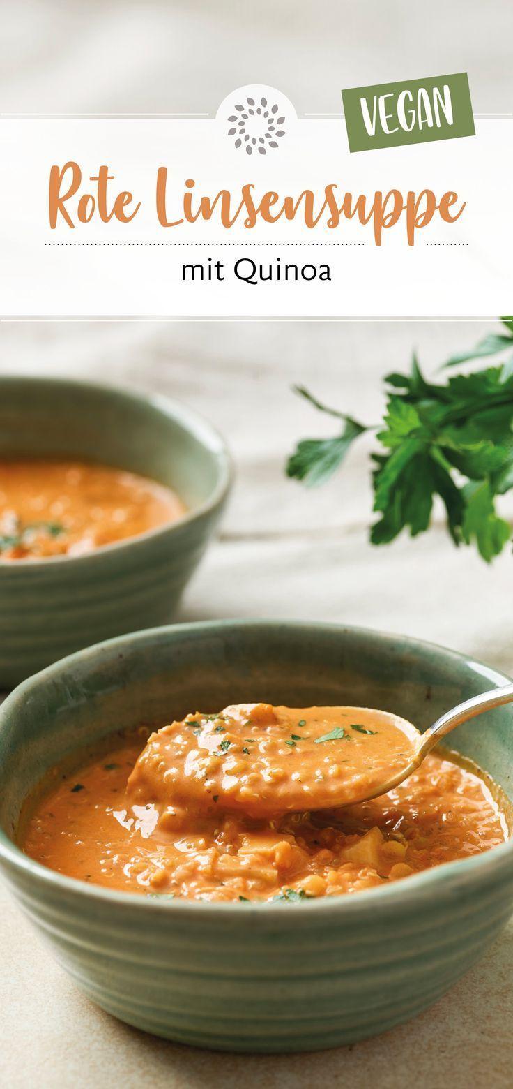 Red lentil soup with quinoa,  #Lentil #Quinoa #Red #Soup #souphealthy