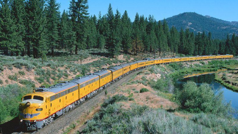 Union Pacific S Quot City Of Los Angeles Quot Trains Train