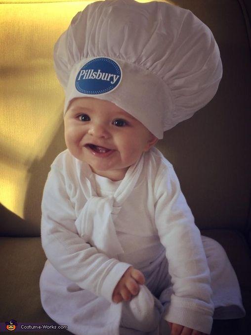 Pillsbury Doughboy & the Baker Baby Costume   Halloween costume ...