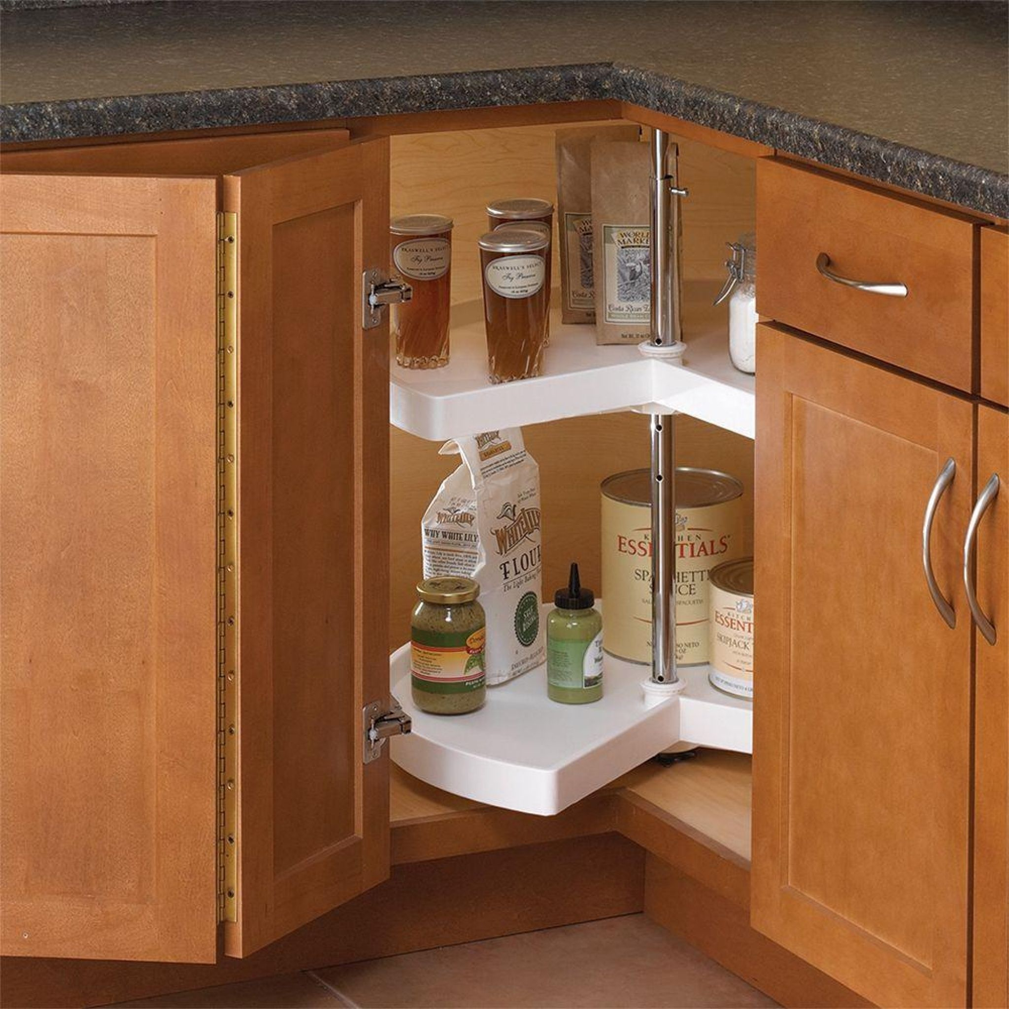kitchen cabinet lazy susan - small kitchen remodel ideas on a budget ...