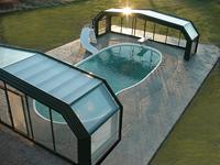 Retractable Enclosures Roof Top Enclosures Rolling Walls Sunrooms Restaurant Enclosures Pool Enclosures Pool Shade Cool Pools Indoor Swimming Pools