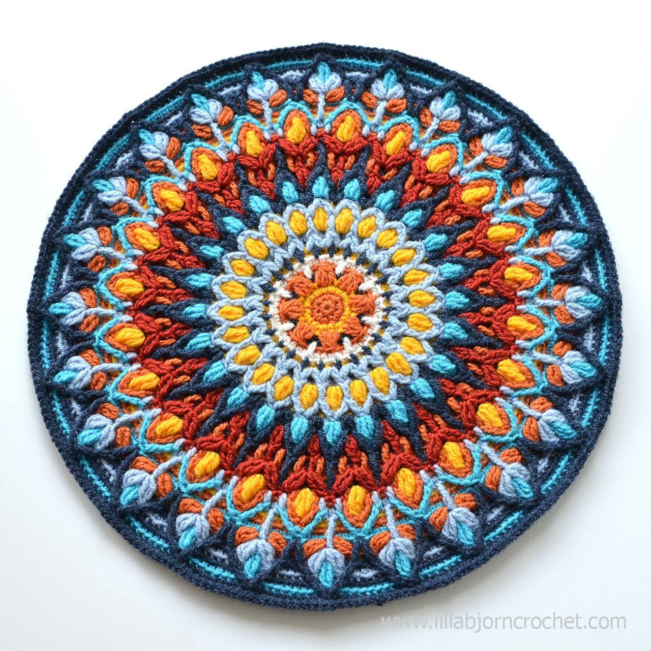 Spanish Mandala was inspired by ceramic handmade plates. Overlay ...