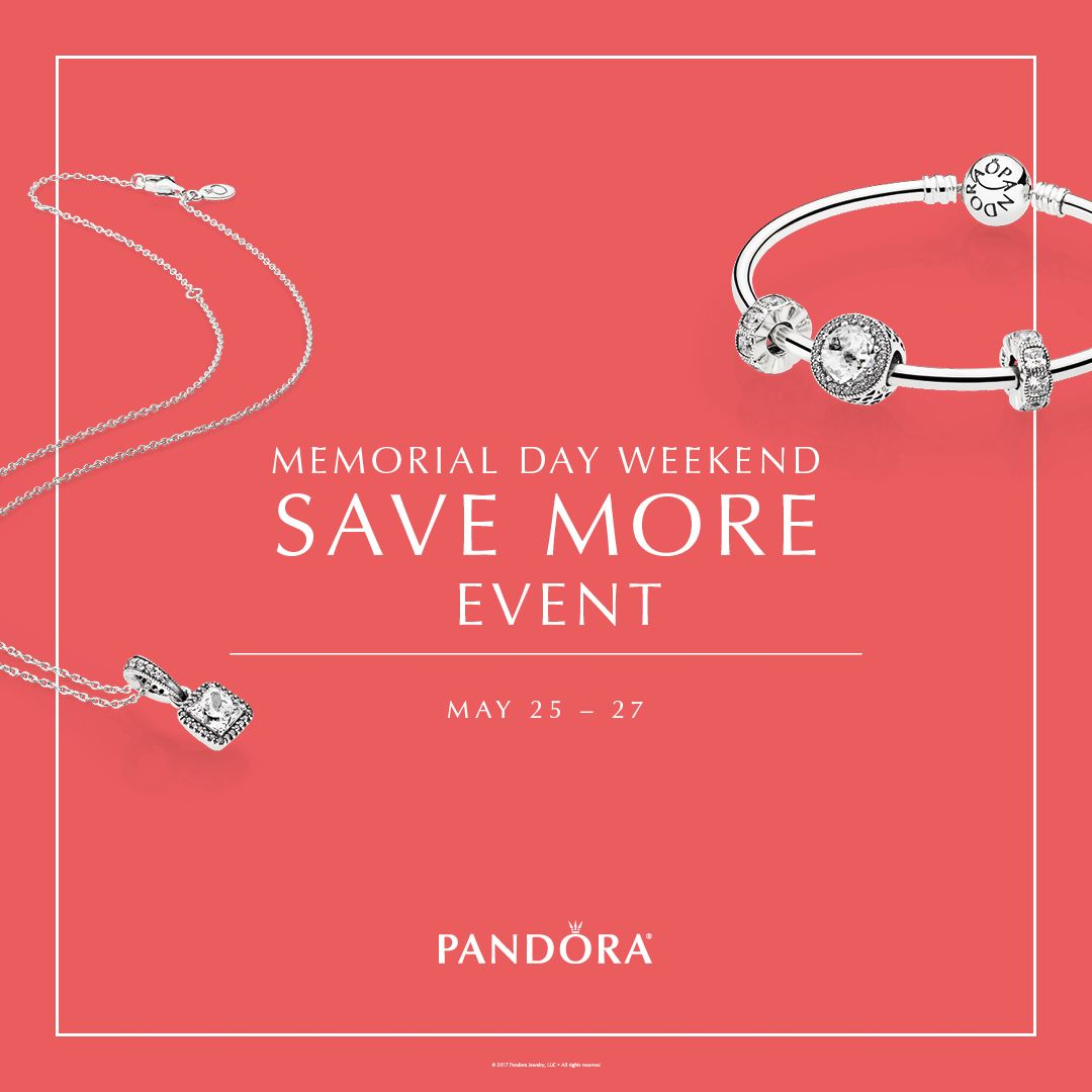 Celebrate Memorial Day Weekend With Savings From Pandora Jewelry And Glatz Jewelers The Spend More Save More Event Pandora Earrings Pandora Boutique Jewelry
