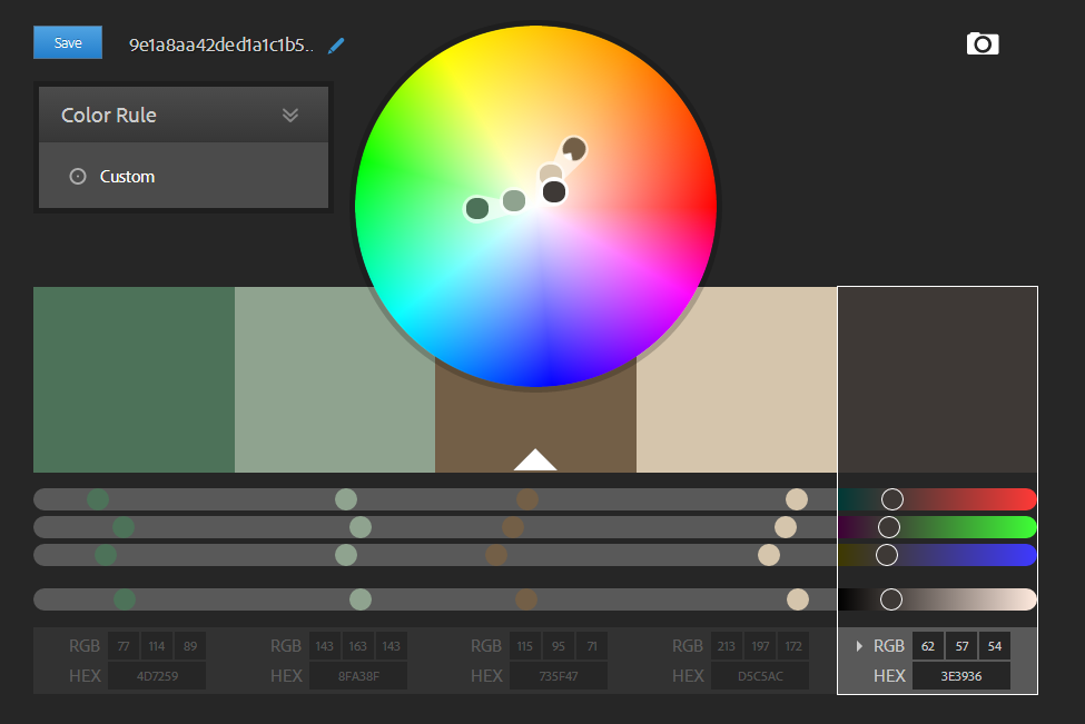 interior swatches Neptune color, Custom, Color