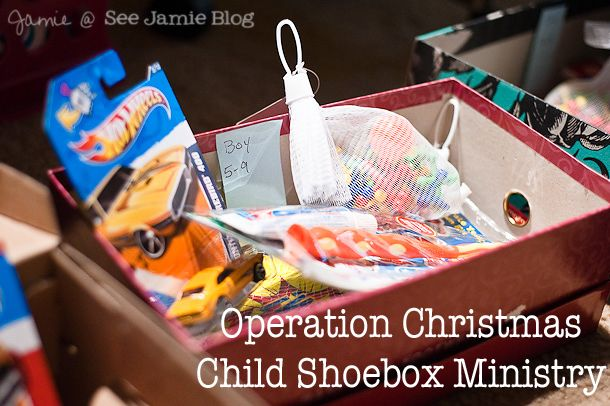 It's Shoebox Time - Epworth United Methodist Church