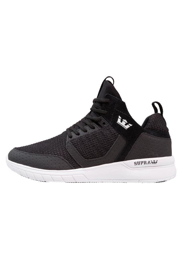 ¡Consigue este tipo de zapatillas bajas de Supra ahora! Haz clic para ver  los detalles. Envíos gratis a toda España. Supra METHOD Zapatillas black/ white: ...