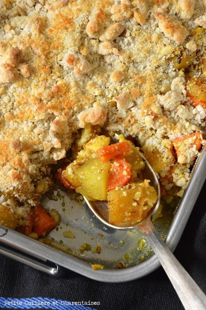 Crumble de Légumes d'Hiver épicés Petite Cuillère