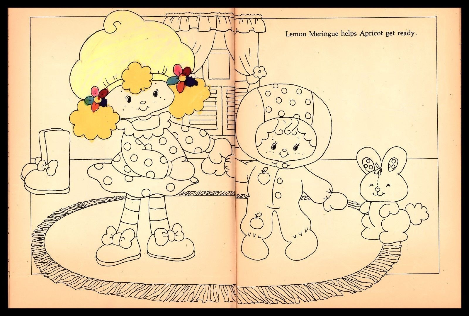 http://www.ebay.com/itm/Vintage-Strawberry-Shortcake-Doll-Coloring ...