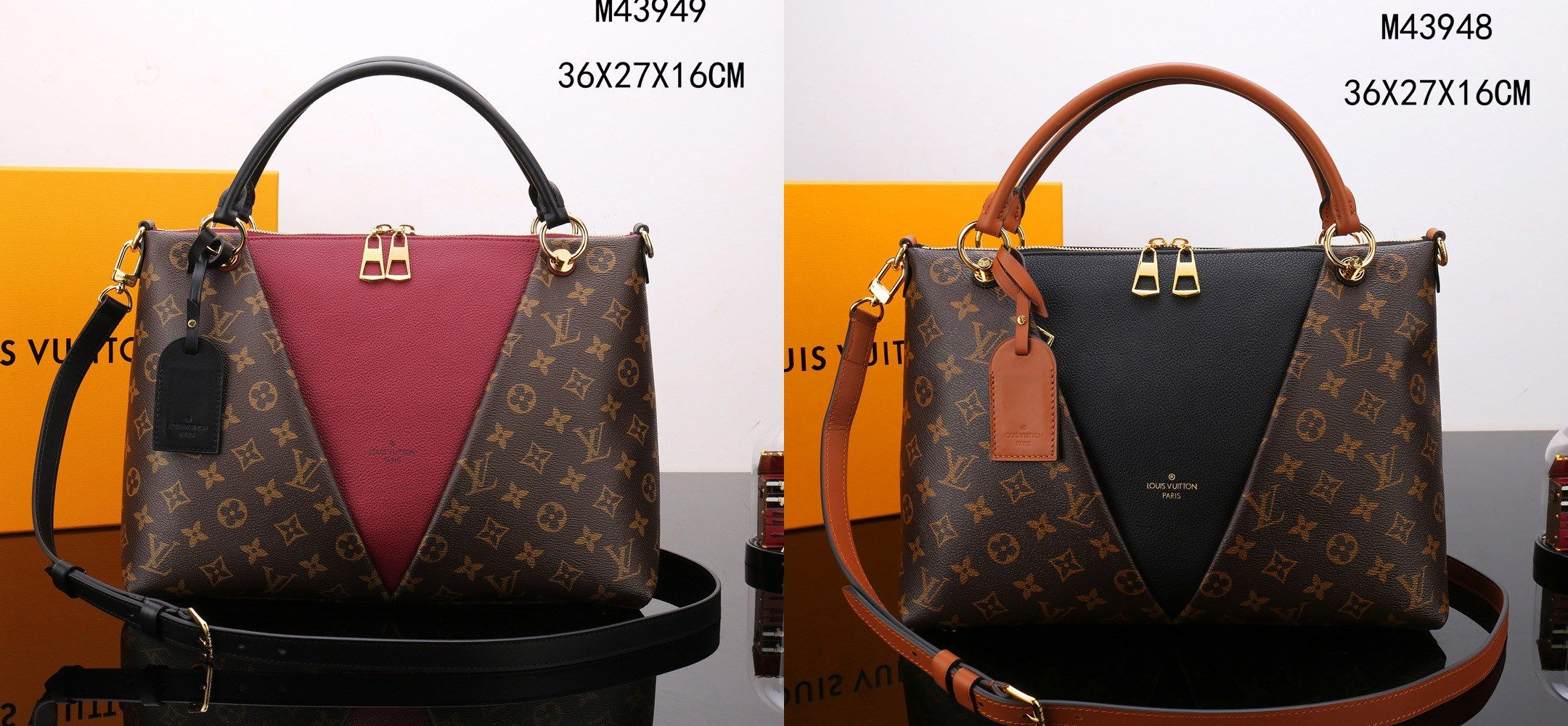 Louis Vuitton V Tote MM handbags  b9376e032d938