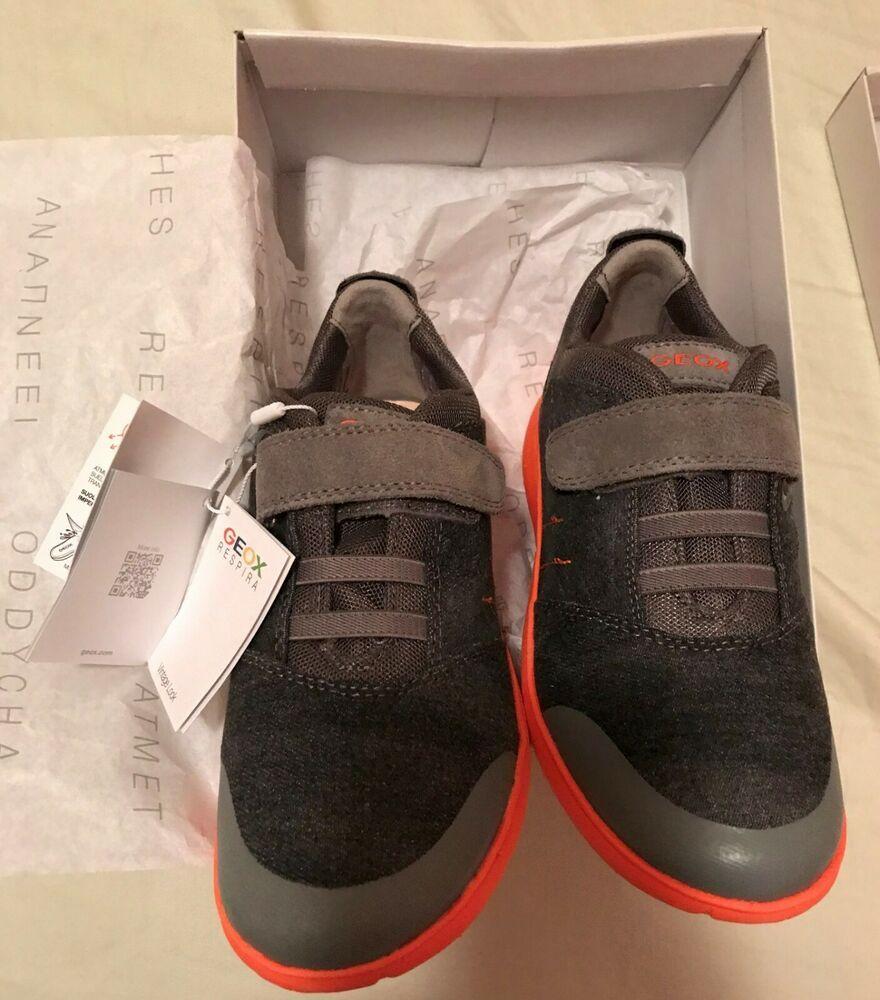 Anillo duro pantalones Proverbio  NEW GEOX Respira Boys size 3 sneaker #Geox #Sneaker in 2020   Sneakers, Geox,  Boys