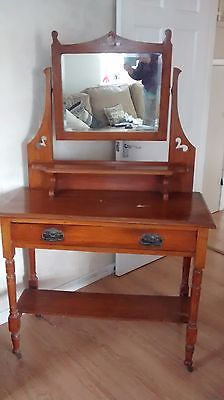 #Beautiful antique arts and #crafts #dressing table,  View more on the LINK: http://www.zeppy.io/product/gb/2/272319487246/