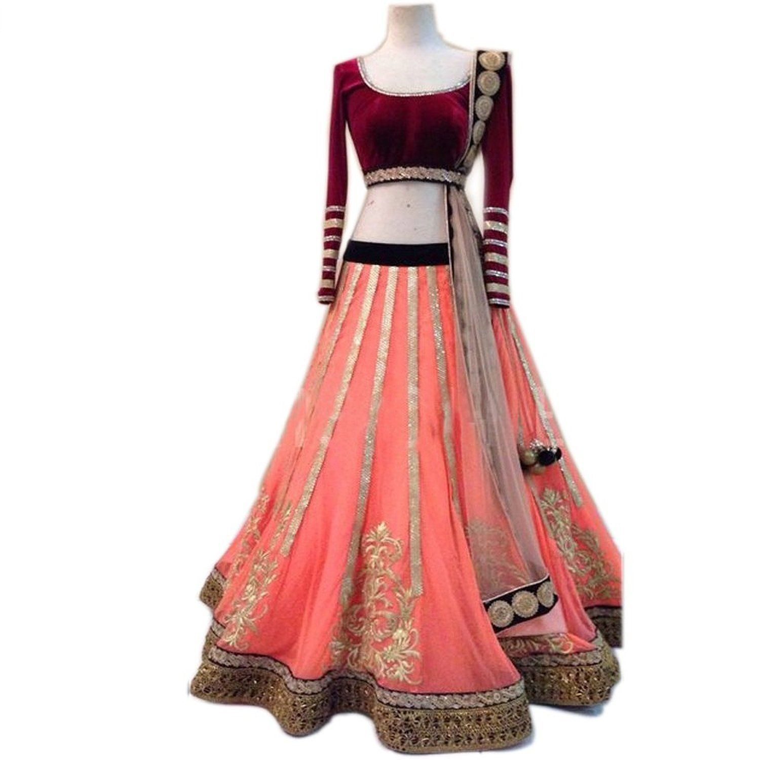 45ef5390e34 Havy Quality gowns for women party wear (lehenga choli for wedding function  salwar suits for women gowns for girls party wear 18 years latest sarees ...