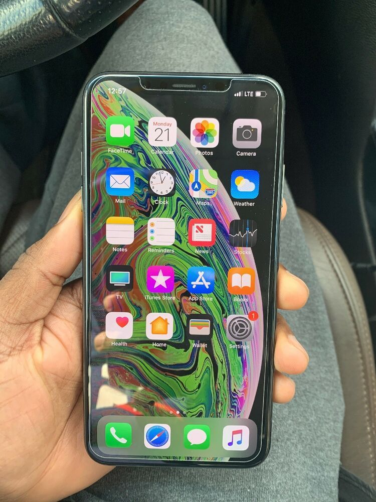 Apple iphone xs max 64gb space gray unlocked a1921
