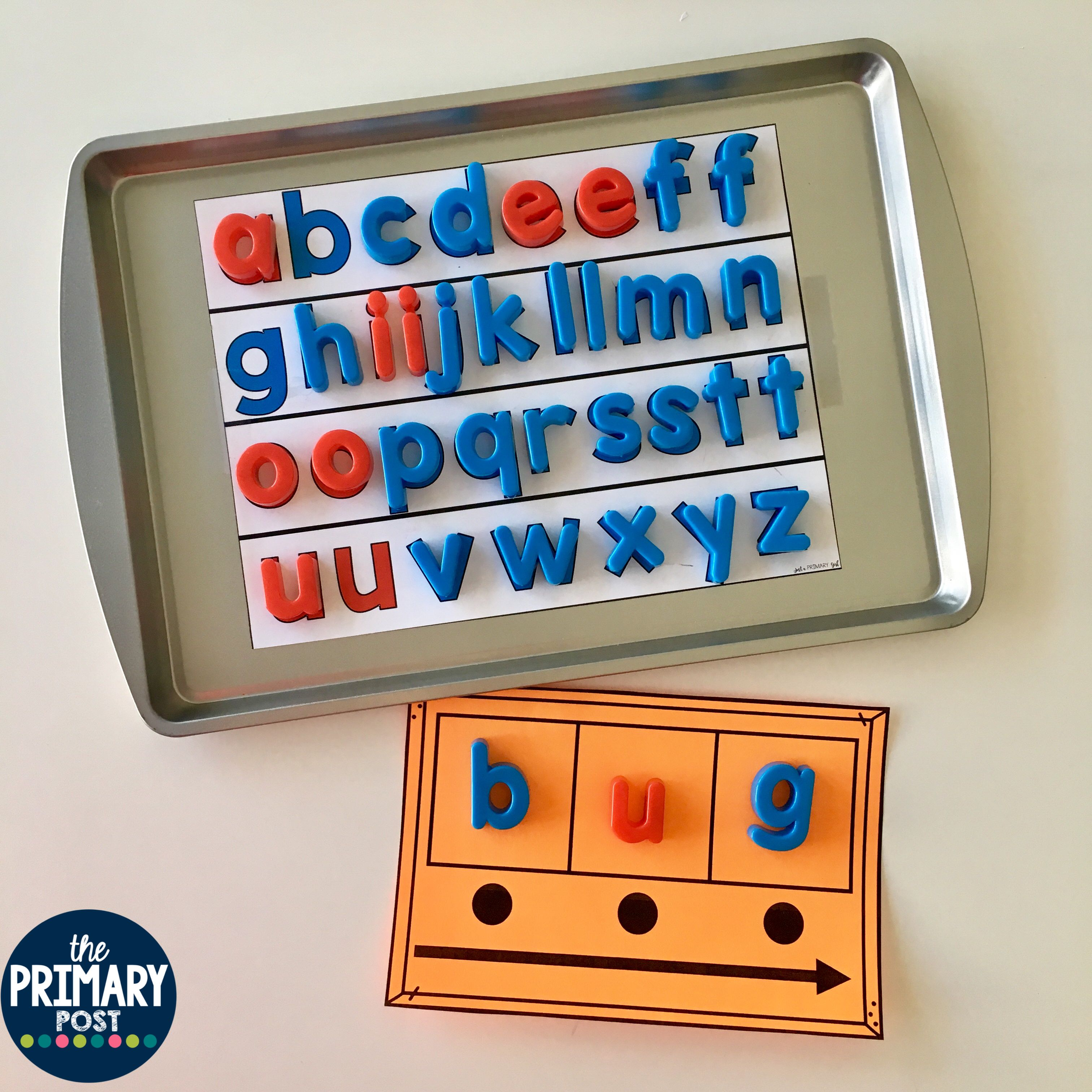 Magnetic Letters Worksheets