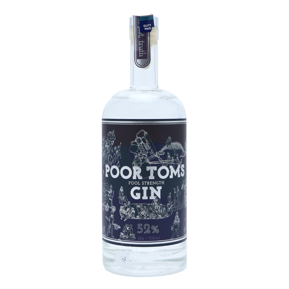 POOR TOMS Fools Strength Gin Gin, Whisky, Dry martini
