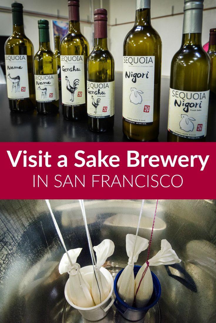 Visiting A Sake Brewery In San Francisco Ever In Transit Francisco Sake California Travel