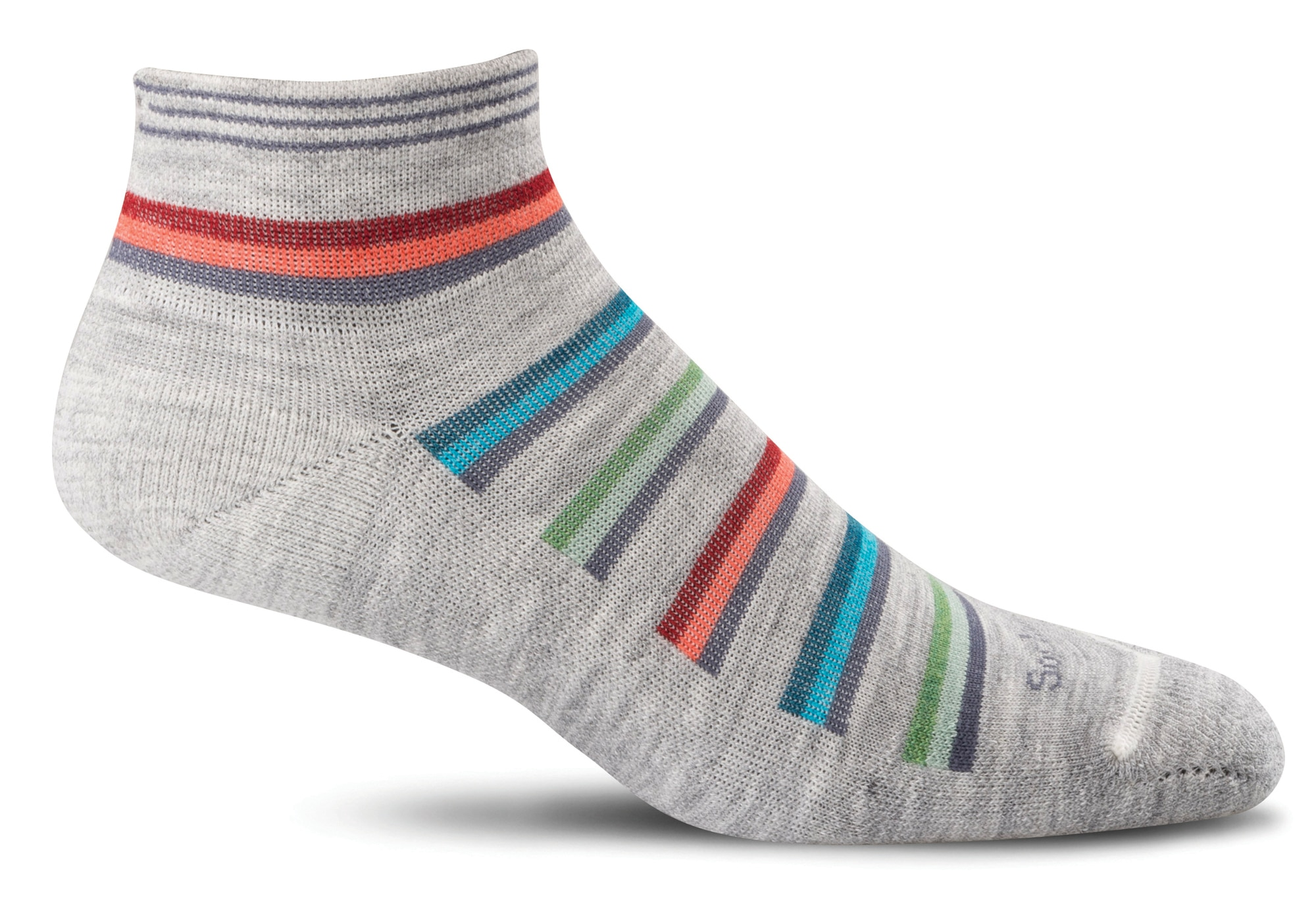 sockwell teal striped M//L