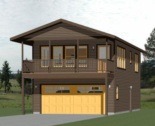20x40 House 1Bedroom 1 5 bath with a Shop 965 sq ft PDF