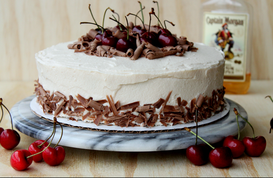 торт пьяная вишня рецепт в картинках
