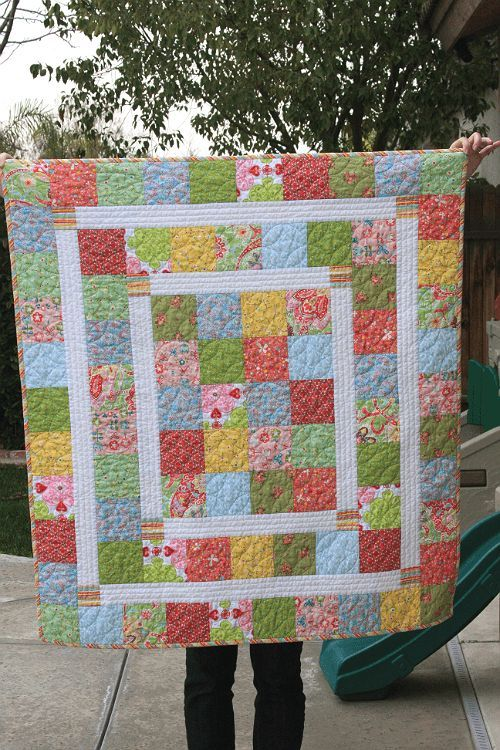 Super Quick and Easy Baby Quilt New Moms Will Love - Quilting ... : quick quilt ideas - Adamdwight.com