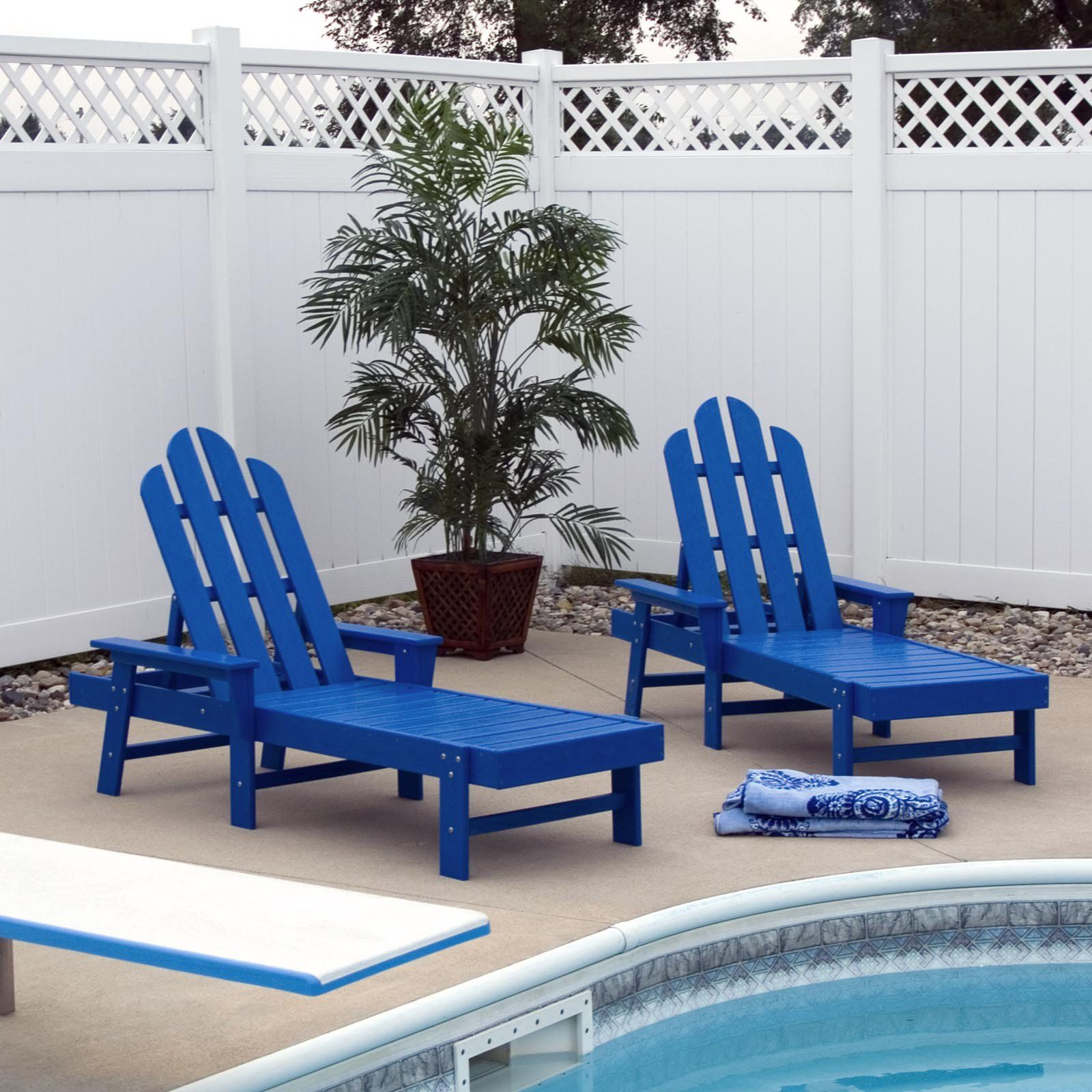 Surprising Outdoor Polywooda Long Island Recycled Plastic Chaise Short Links Chair Design For Home Short Linksinfo