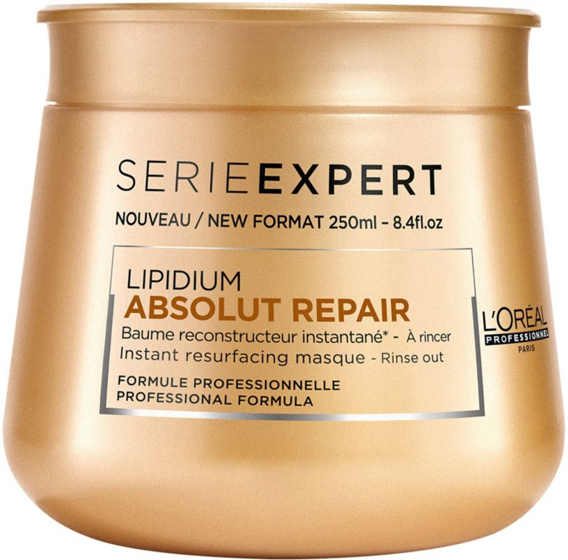 L Oreal Professionnel Serie Expert Absolut Repair Lipidium Mask Deeply Hydrates And Nourishes Hair This Hair L Oreal Professionnel Loreal Restore Hair Health