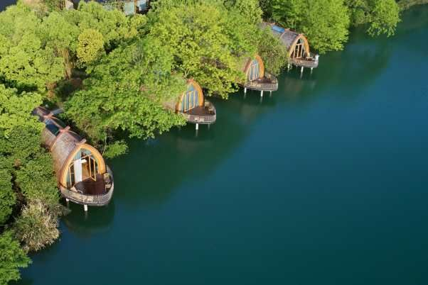 Boat Rooms on the Fuchun River | The Design Institute of Landscape and Architecture China Academy of Art – Arch2O.com