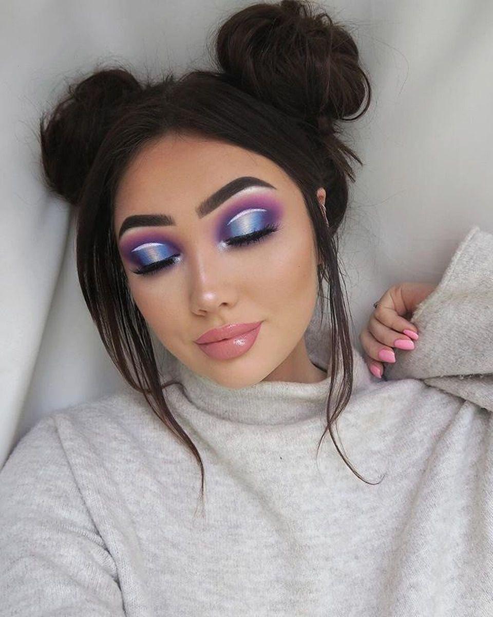 Cool Makeup Goals Full face makeup, Cute makeup