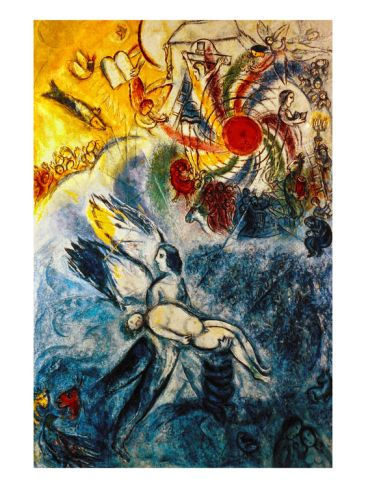 Chagall: Creation Giclee Print by Marc Chagall at Art.com
