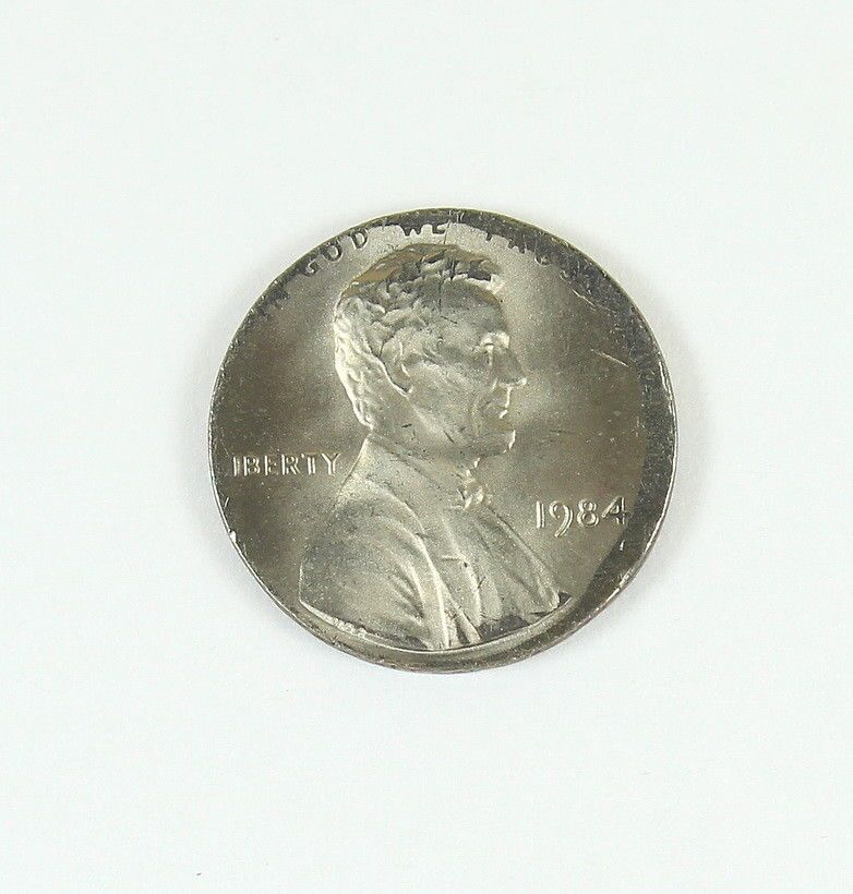 MAJOR ERROR~1984 Lincoln Cent Struck On Dime Planchet~RARE