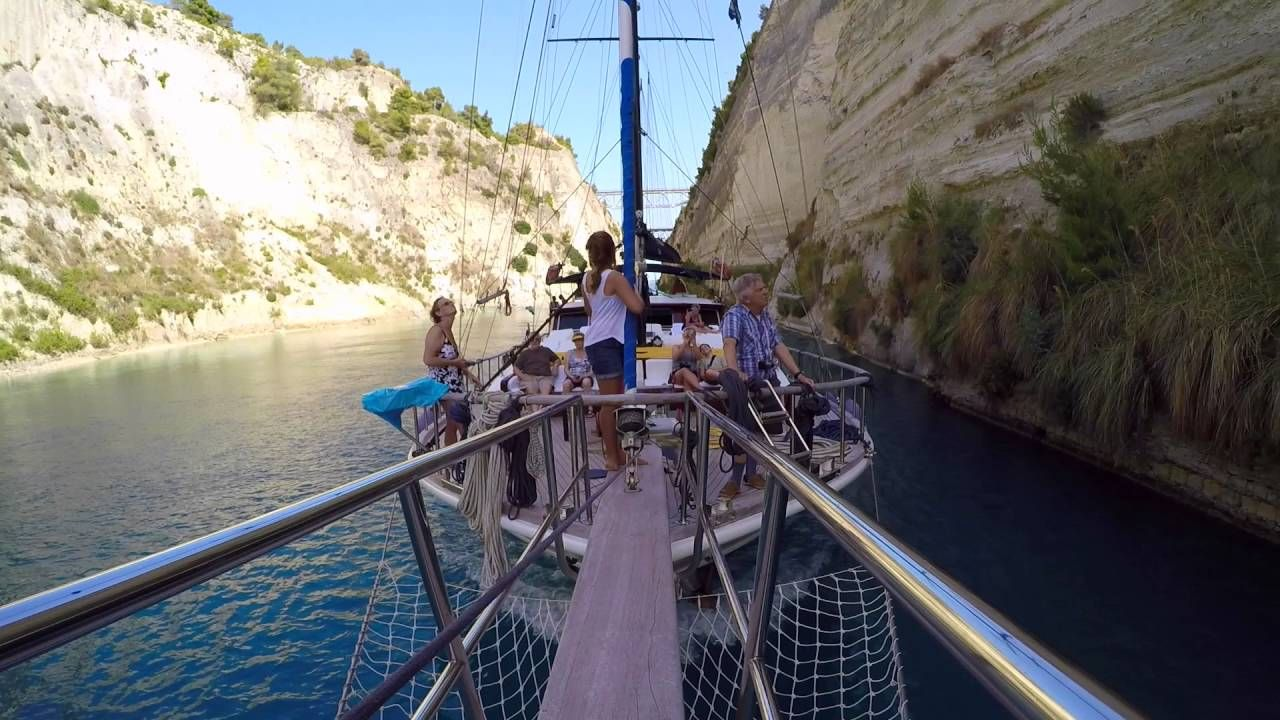 "Corinth Canal ""Sailing Jubilee"""