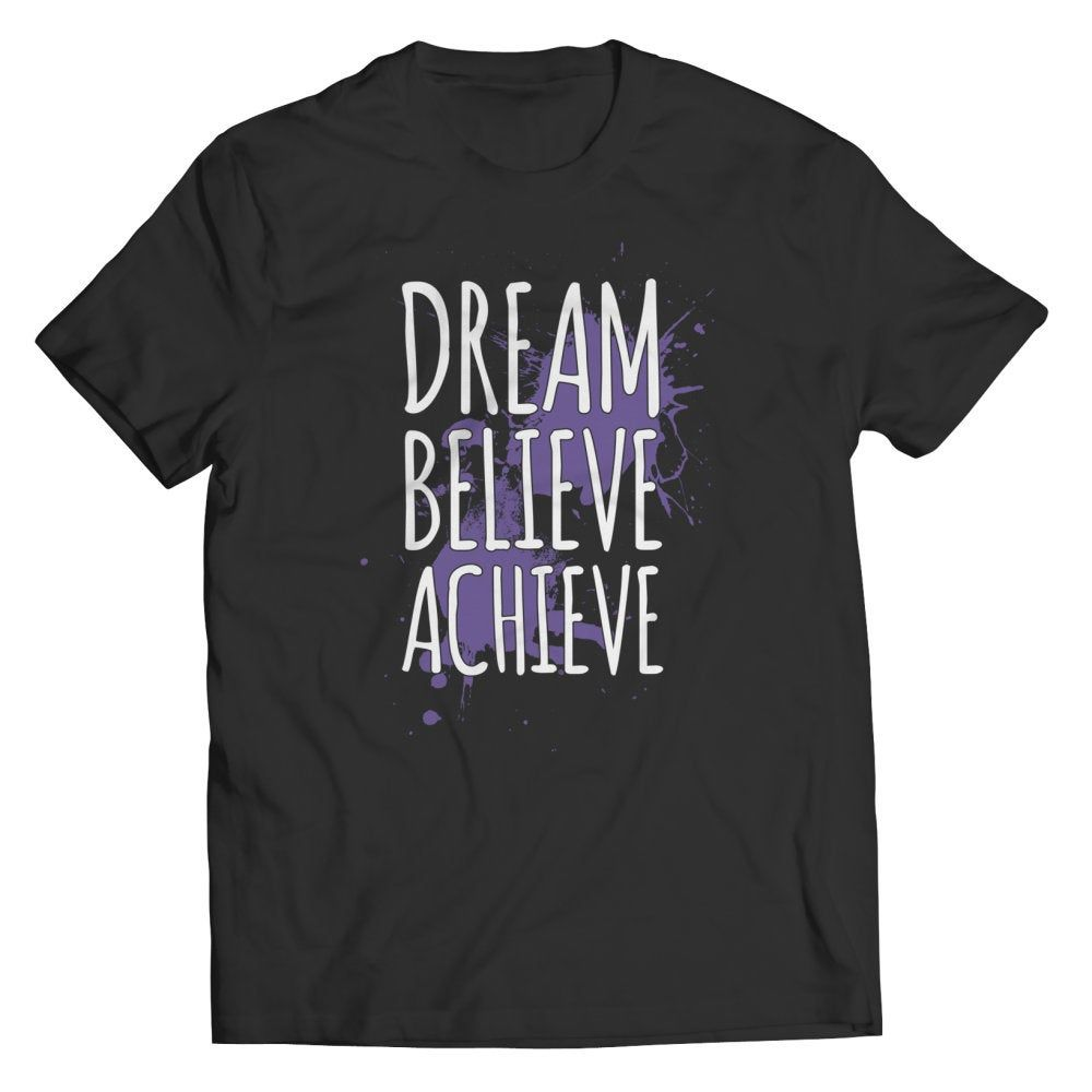 Have a Dream? You must 1st believe in order to Achieve it! Now Available for a limited time only! #holidayseason #holidayshopping #holidayspirit #holidayteeshirt #holidayspecial #holidayfun #gifts #Greatgifts #holiday2020 #holidaymood #funnyshirt #inspirationtee