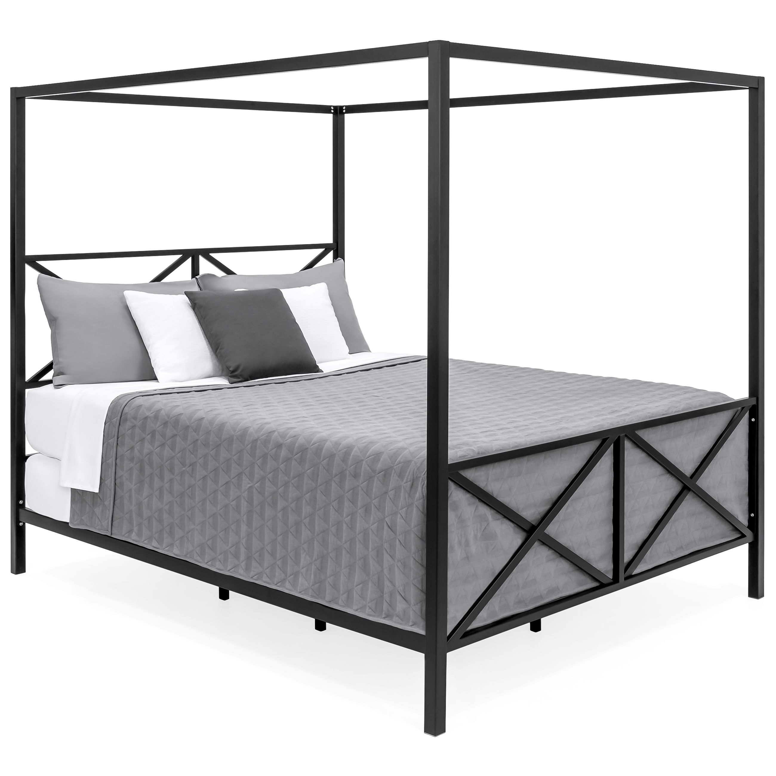 Grab The Best Of The Queen Bed Frame Decorifusta In 2020 Canopy Bed Frame Bed Frame And Headboard Queen Bed Frame