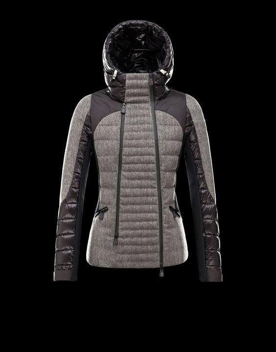 aa27d4d5d1 Moncler Rochebrune Tweed. I like the combination of the tweed with ...