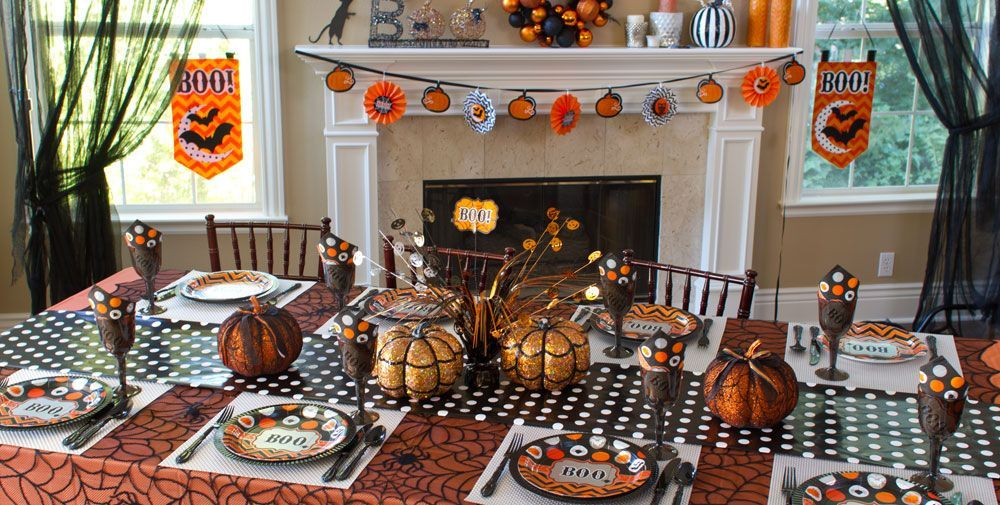 Modern Halloween Party Supplies #1 Halloween Pinterest