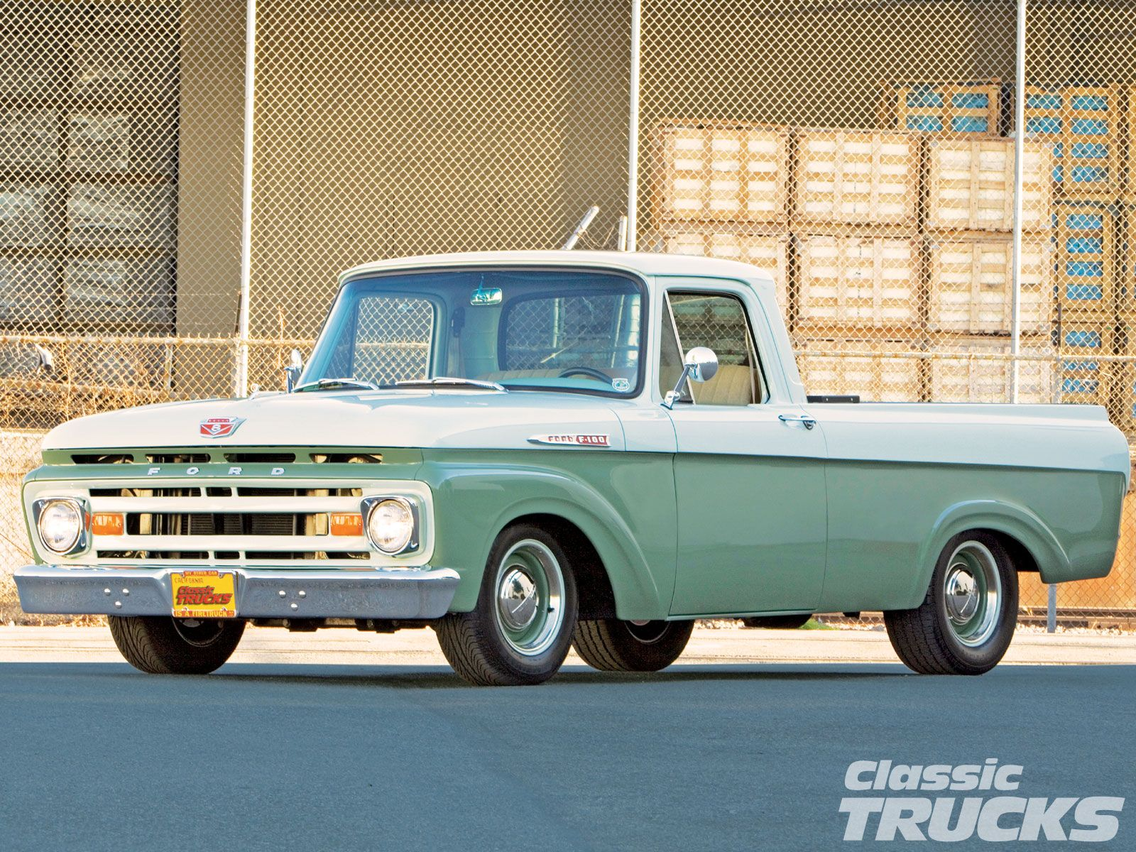 1962 ford unibody my vehicle was a basically the same truck