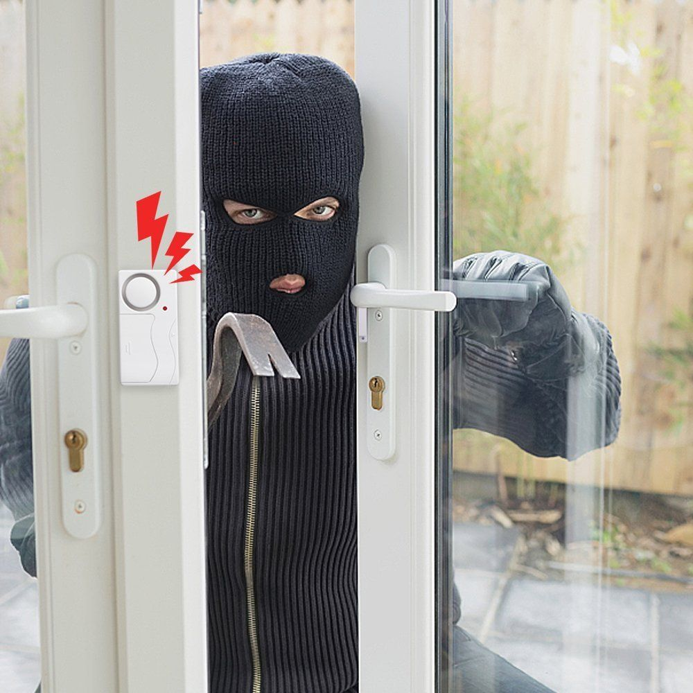 Wsdcam Door Alarm Wireless Anti Theft Remote Control Door And Window Security Alarms Petagadget In 2020 Window Security Security Alarm Home Security Systems