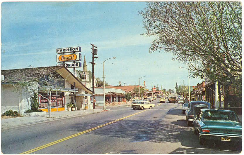 Old School Fallbrook California Where I Used To Live As A Child
